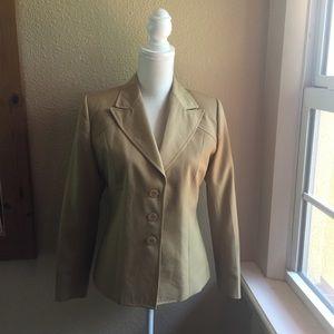 VTG YVES SAINT LAURENT  Neutral Jacket Women's M